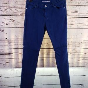 Michael Kors Straight Leg Blue Jeans Pants 8